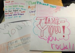 TY notes from Kimball students cropped